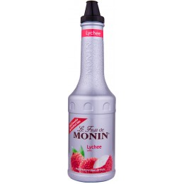 Monin Litchi Piure de Fructe 1L
