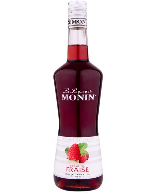 Monin Strawberry Lichior 0.7L