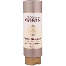 Monin White Chocolate Topping 0.5L