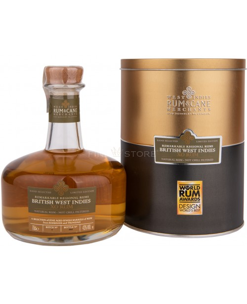 British West Indies XO Remarkable Regional Rums 0.7L