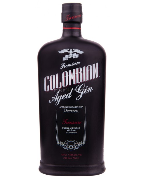 Dictador Colombian Aged Gin Treasure 0.7L