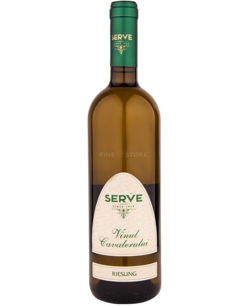 Serve Vinul Cavalerului Riesling 0.75L
