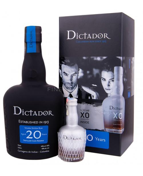 Dictador 20 Ani cu Miniatura XO Insolent 0.75L