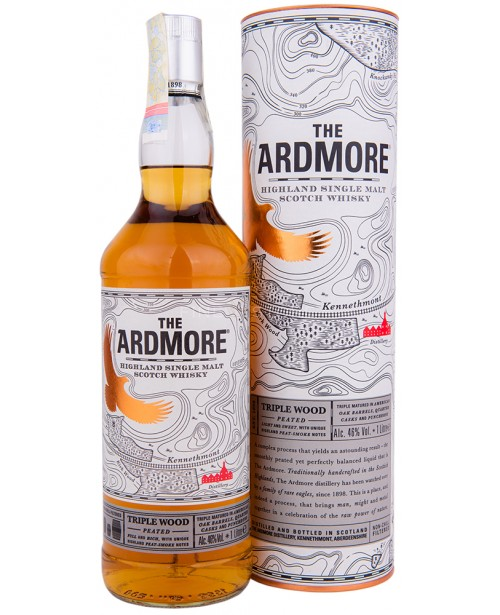 Ardmore Triple Wood Peated 1L