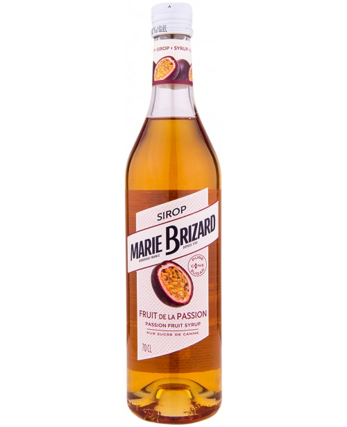 Marie Brizard Passion Fruit Sirop 0.7L Top