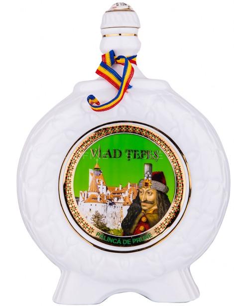 Vlad Tepes Palinca de Prune Portelan 1L Top