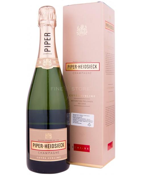 Piper Heidsieck Cuvee Sublime Demi-Sec 0.75L