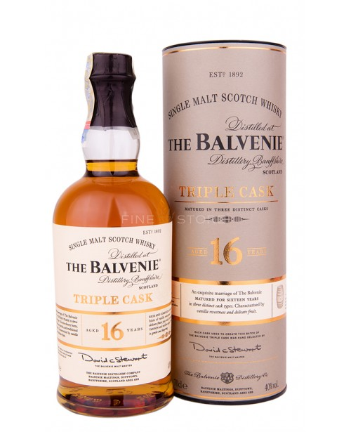 Balvenie 16 Ani Triple Cask 0.7L Top