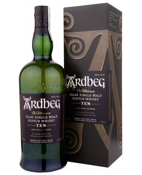 Ardbeg 10 Ani 1L Top