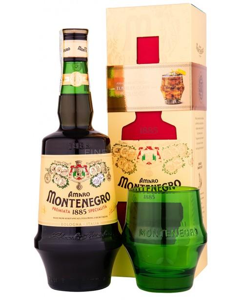 Amaro Montenegro Cu Pahar 0.7L Top