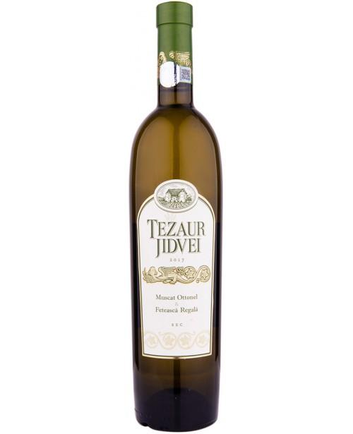 Jidvei Tezaur Muscat Ottonel & Feteasca Regala 0.75L