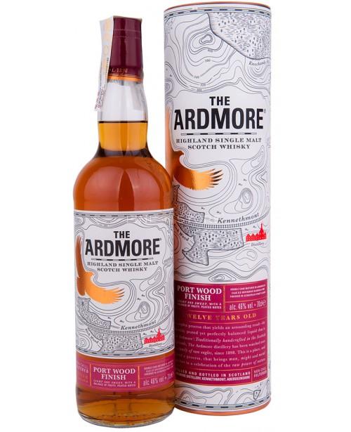 Ardmore 12 Ani Port Wood Finish 0.7L Top