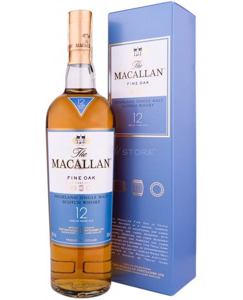 Macallan 12 Ani Fine Oak 0.7L