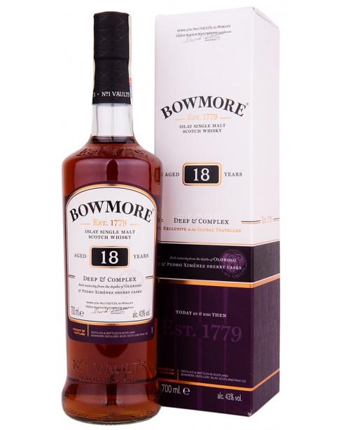 Bowmore 18 Ani Deep & Complex 0.7L
