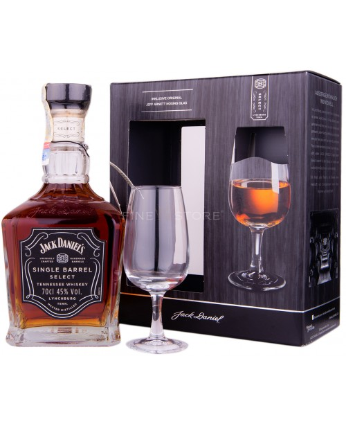 Jack Daniel's Single Barrel cu Pahar 0.7L