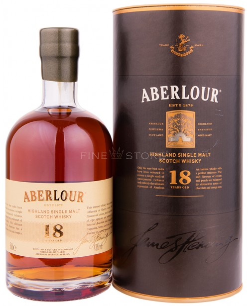 Aberlour 18 Ani 0.5L Top