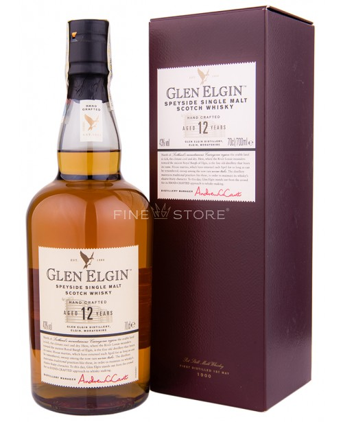 Glen Elgin 12 Ani 0.7L