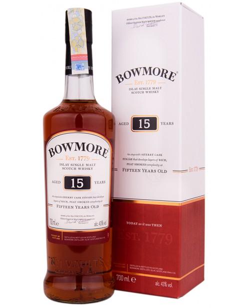 Bowmore 15 Ani 0.7L