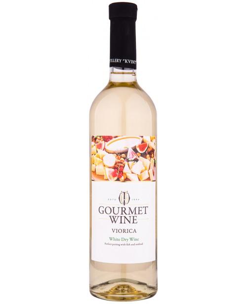 Kvint Gourmet Wine Viorica Alb 0.75L
