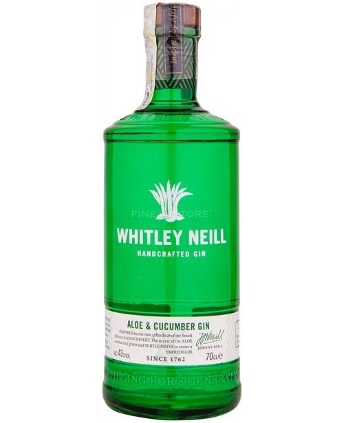 Whitley Neill Aloe Vera si Castravete Gin 0.7L