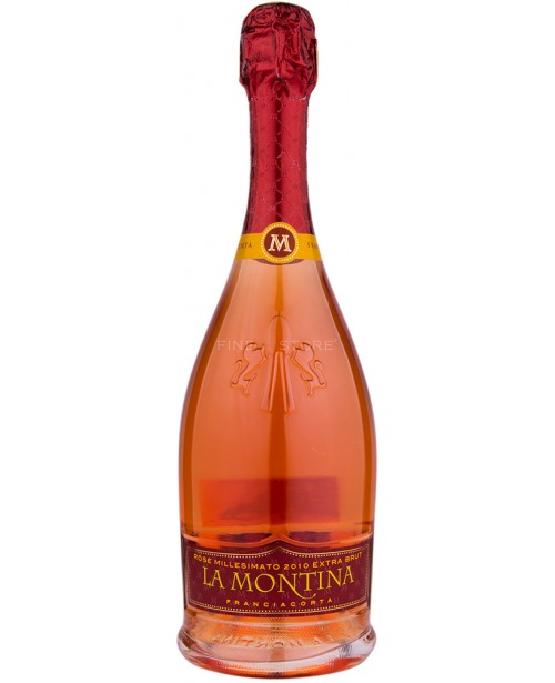 La Montina Franciacorta Rose Millesimato Extra Brut 0.75L