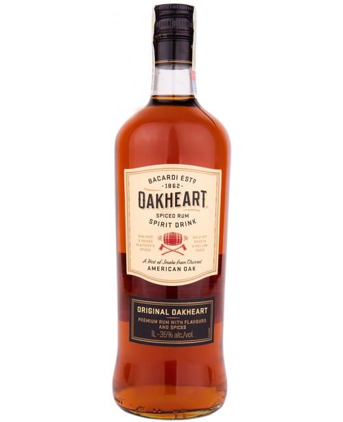Bacardi Oakheart 1L Top