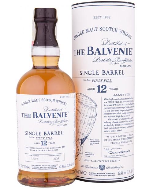 Balvenie 12 Ani Single Barrel First Fill 0.7L