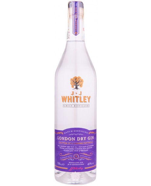 JJ Whitley London Dry Gin 0.7L