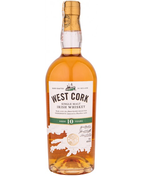 West Cork 10 Ani Single Malt 0.7L