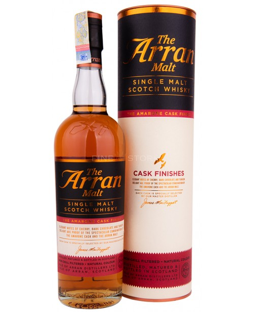 Arran The Amarone Cask Finish 0.7L Top