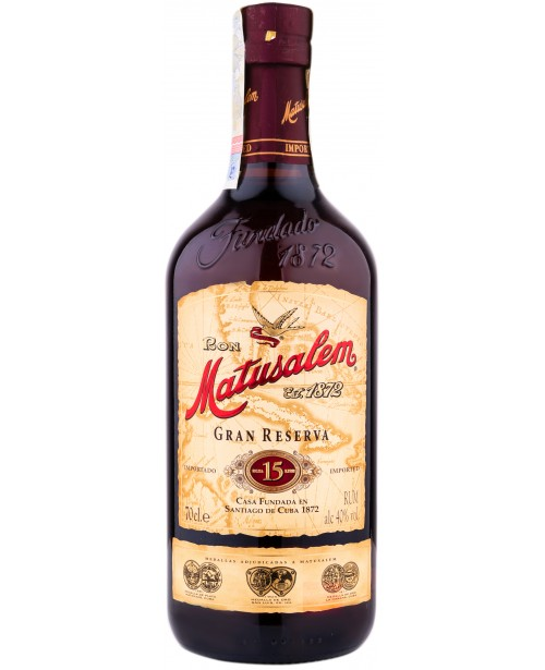 Matusalem 15 Gran Reserva 0.7L