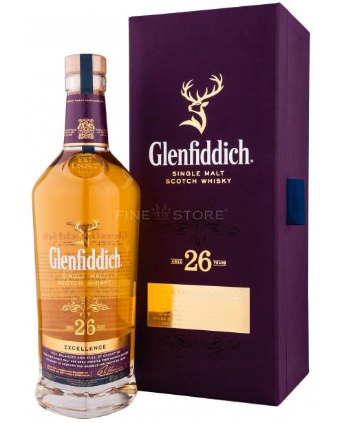 Glenfiddich 26 Ani 0.7L Top