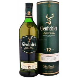 Glenfiddich 12 Ani 1L