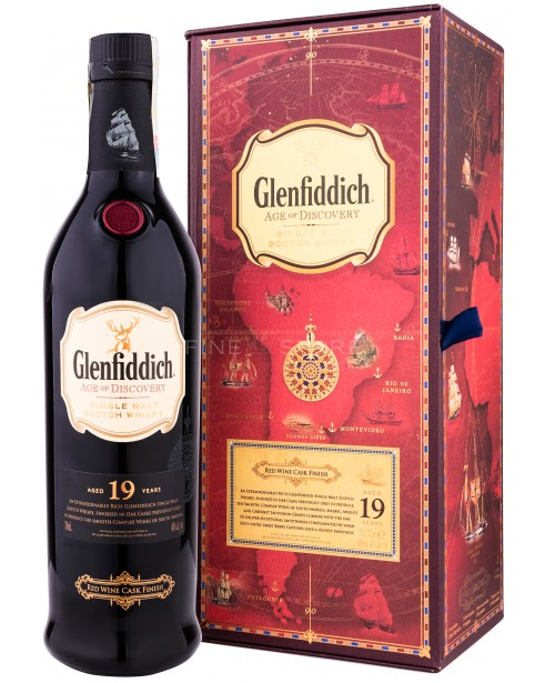 Glenfiddich 19 Ani Age of Discovery Wine Cask 0.7L