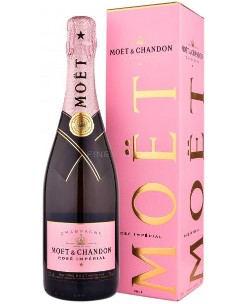 Moet & Chandon Rose Cutie Cadou 0.75L