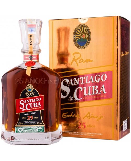 Santiago de Cuba 25 Ani Extra Anejo 0.7L