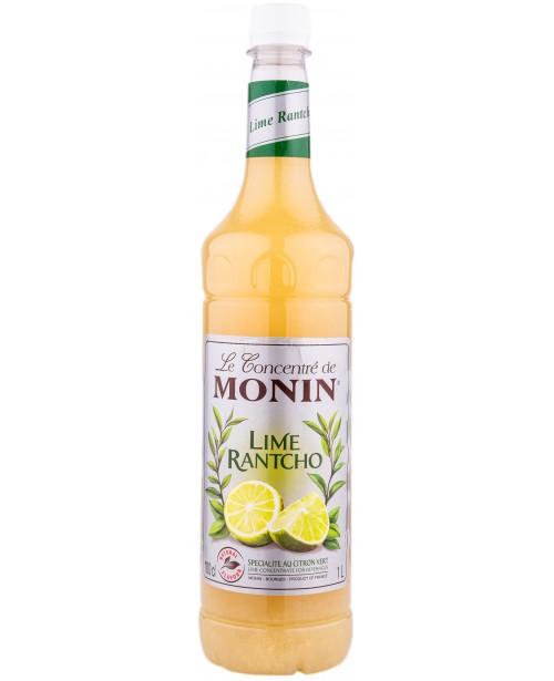 Monin Rantcho Lime Sirop 1L PET