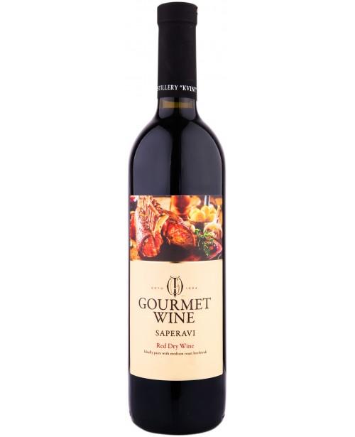 Kvint Gourmet Wine Saperavi Rosu 0.75L