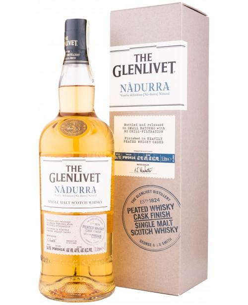 Glenlivet Nadurra Peated Whisky Cask Finish 1L