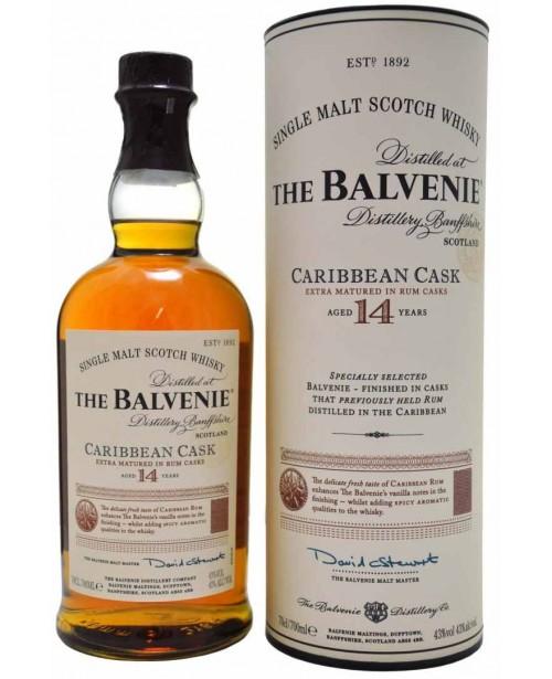 Balvenie 14 Ani Caribbean Cask 0.7L Top