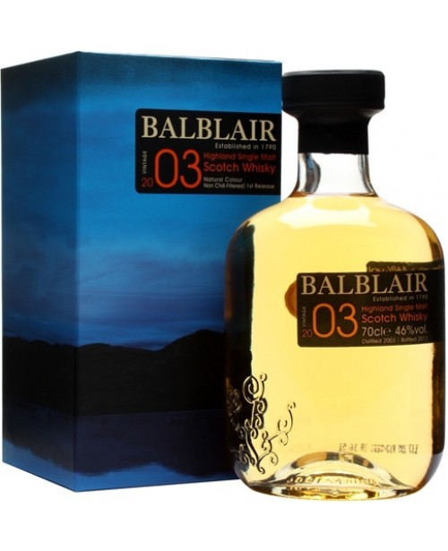 Balblair 2003 Vintage 0.7L Top