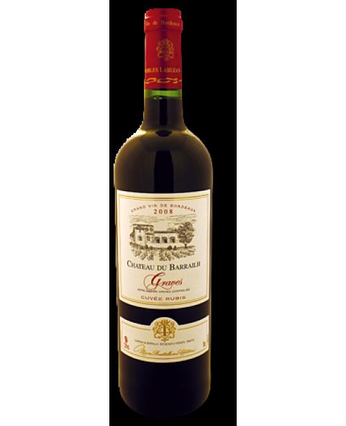 Chateau du Barrailh Graves Grand Vin de Bordeaux 0.75L