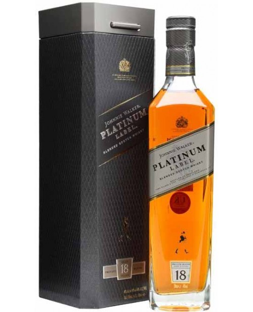 Johnnie Walker Platinum 18 Ani 0.7L