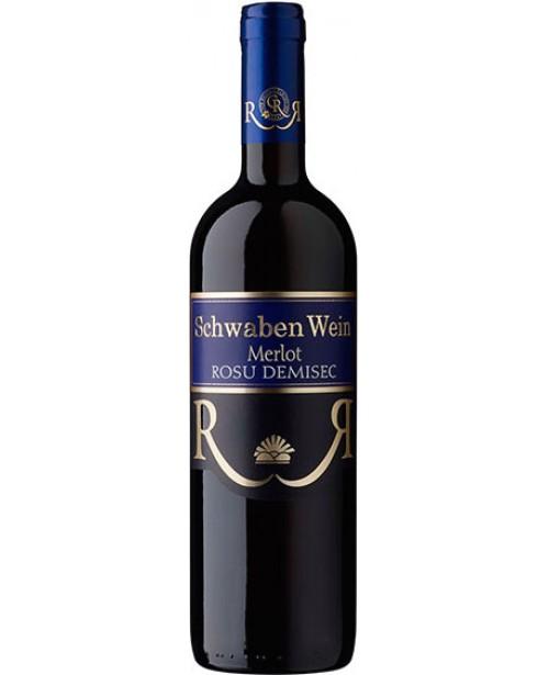 Recas Schwaben Wein Merlot 0.75L