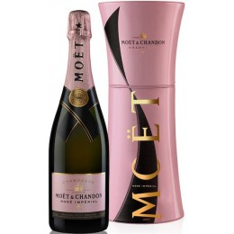 Moet & Chandon Rose Unfurl Cutie Metal 0.75L