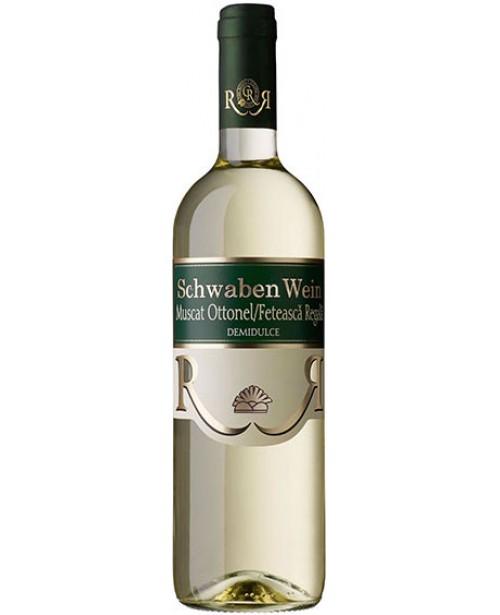 Recas Schwaben Wein Muscat & Feteasca Regala 0.75L