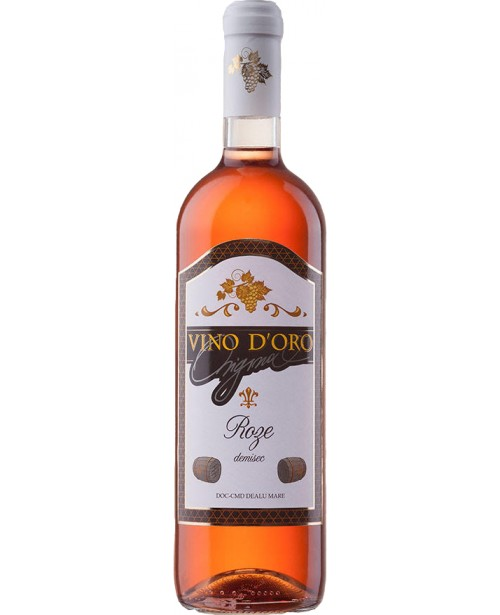 Vino D'Oro Vin Roze 0.75L BAX