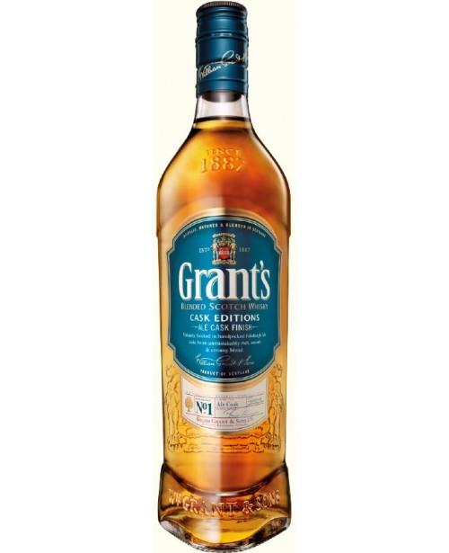 Grant's Ale Cask 0.7L Top